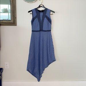 BCBGMaxAzria asymmetrical dress size S